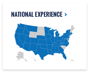 National Trial Experience Map